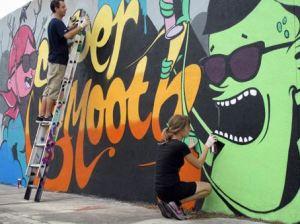 Street Artists  Dabs Myla