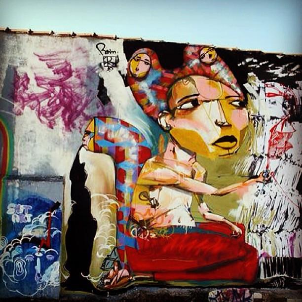 street artist, Ricardo Akn